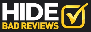 hide bad reviews and negative search results online